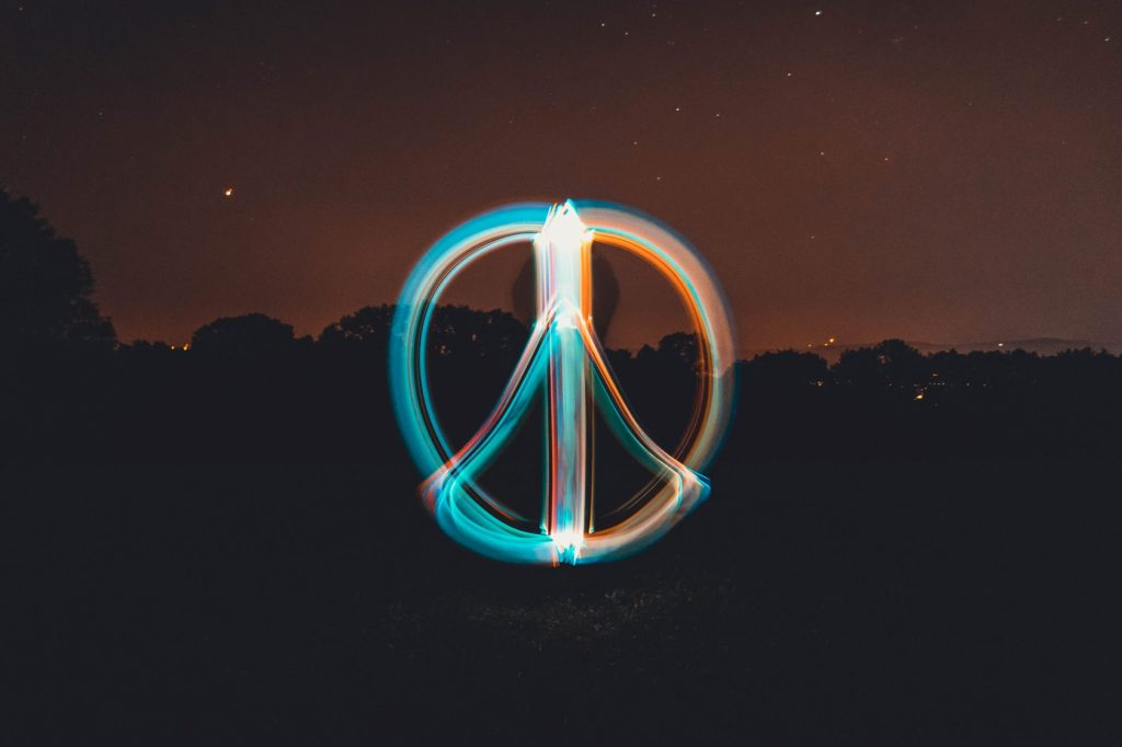 Peace, development