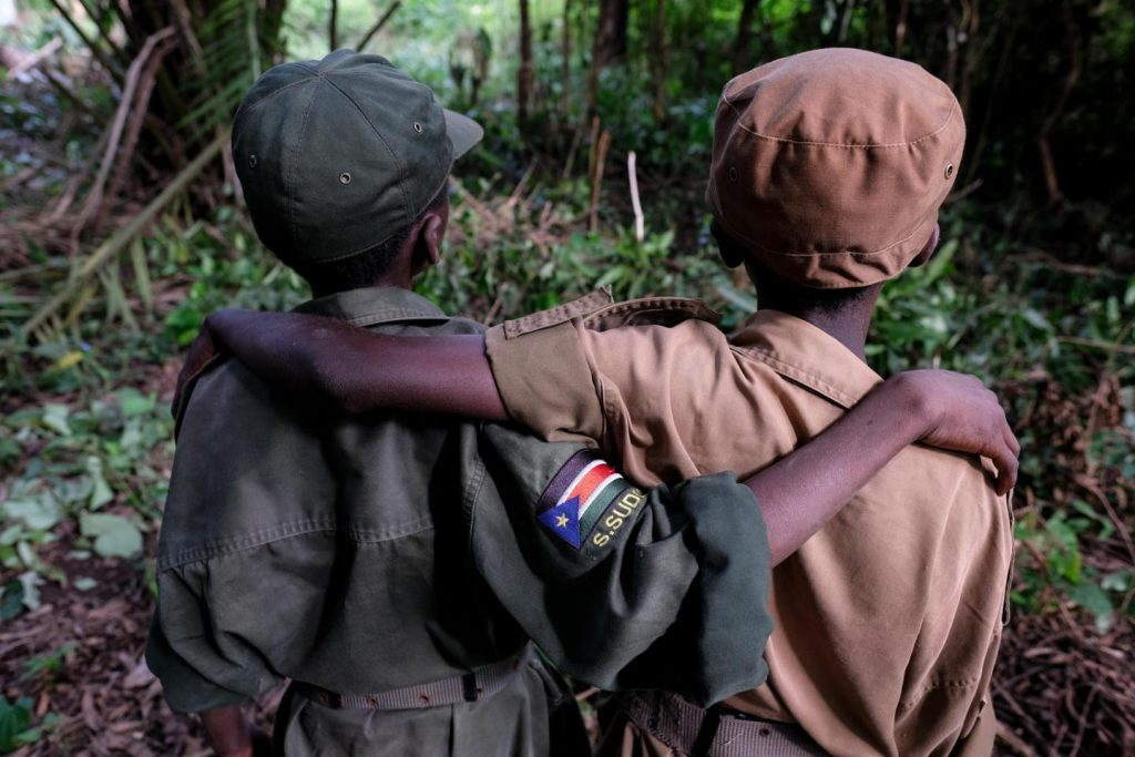 African Child Soldiers: The Children Fighting Adults' Wars